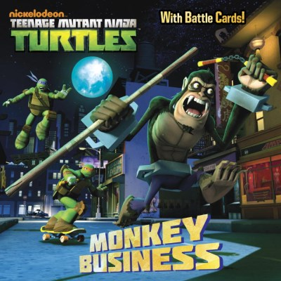 Random House Monkey Business (teenage Mutant Ninja Turtles)
