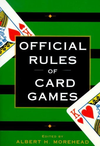 Albert H. Morehead Official Rules Of Card Games