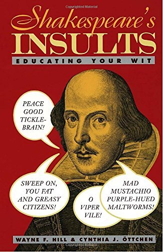 Wayne Hill Shakespeare's Insults Educating Your Wit