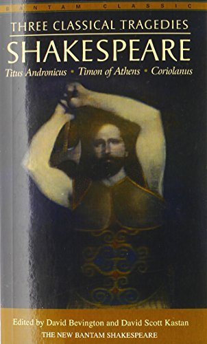 William Shakespeare Three Classical Tragedies Titus Andronicus Timon Of Athens Coriolanus