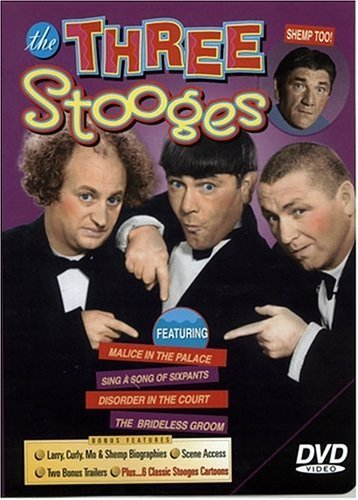 Three Stooges Brideless Groom Disorder In The Court Malace I