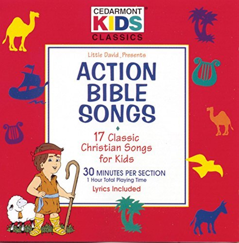 Cedarmont Kids Action Bible Songs Cedarmont Kids