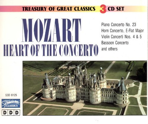 W.A. Mozart Heart Of Concerto