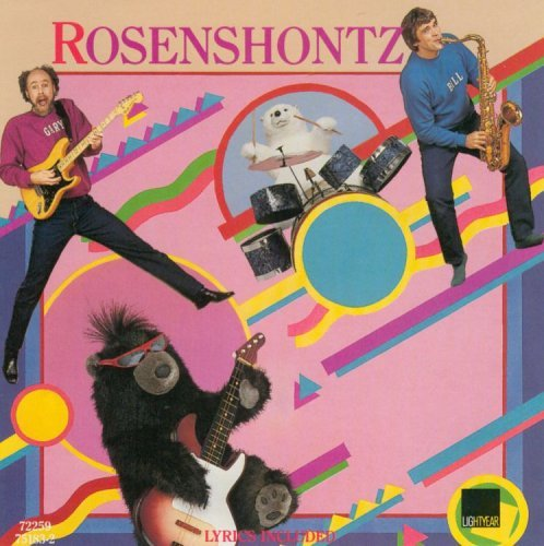 Rosenshontz Rock 'n Roll Teddy Bear