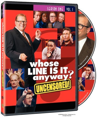 Whose Line Is It Anyway Whose Line Is It Anyway Vol. Clr Uncensored Nr 2 DVD