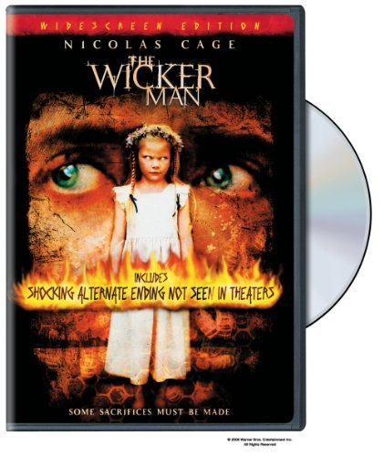 Wicker Man Cage Burstyn Campbell DVD Pg13