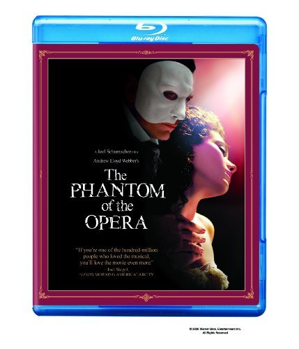 Phantom Of The Opera Wilson Rossum Fleet Mcguire Blu Ray Ws Pg13