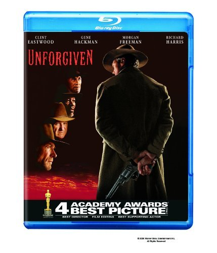 Unforgiven Eastwood Hackman Freeman Blu Ray R