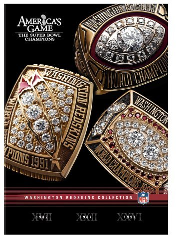 Washington Redskins Nfl Americas Game Nr 3 DVD