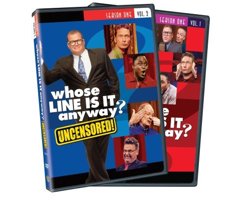 Whose Line Is It Anyway Whose Line Is It Anyway Vol. Vol. 1 2 Season 1 Nr 4 DVD