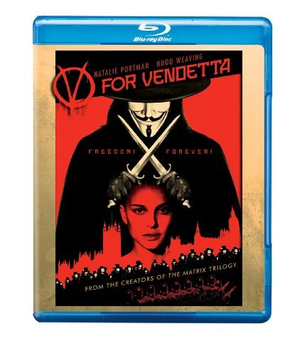 V For Vendetta Portman Weaving Hurt Graves Blu Ray R Ws