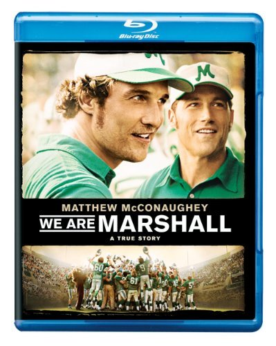 We Are Marshall Mcconaughey Mackie Fox Blu Ray Ws Pg