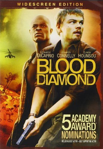 Blood Diamond De Caprio Hounsou Connelly DVD R