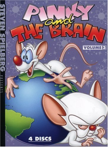Pinky & The Brain Volume 3 DVD Nr