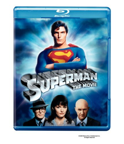 Superman (1978) Reeve Kidder Brando Hackman Blu Ray Ws Nr