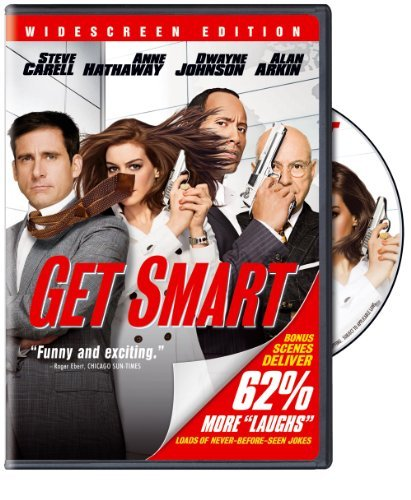 Get Smart (2008) Carell Johnson Hathaway Arkin Ws Pg 13