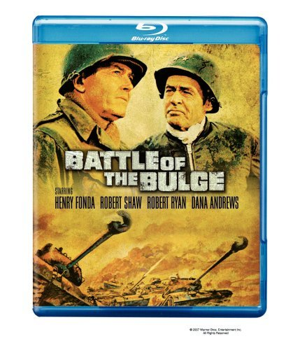 Battle Of The Bulge Fonda Shaw Ryan Andrews Blu Ray Ws R