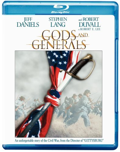 Gods & Generals Daniels Lang Duvall Conway Ws Blu Ray Pg13