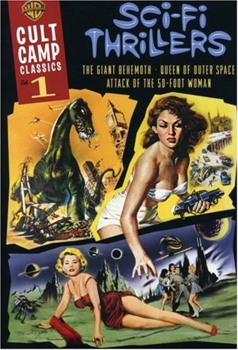 Cult Camp Classics Vol. 1 Sci Fi Thrillers Nr 3 DVD