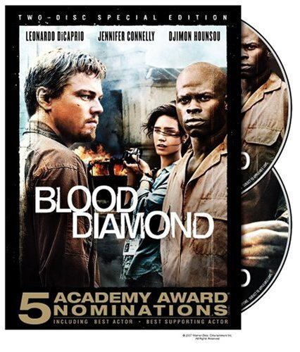 Blood Diamond De Caprio Hounsou Connelly Clr O Sleeve R 2 DVD