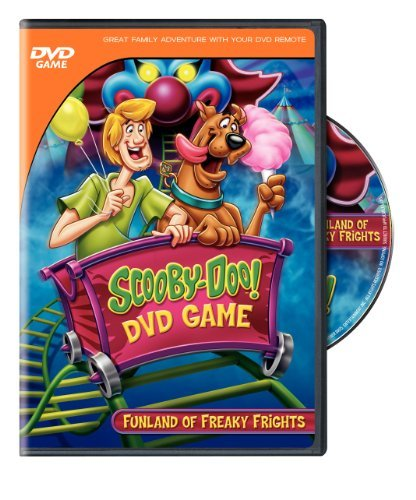 Scooby Doo Interactive DVD Gam Funland Of Freaky Frights Nr