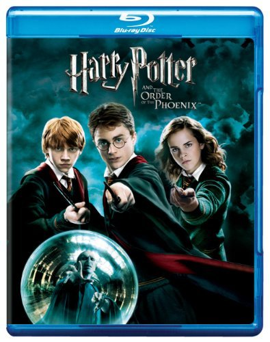 Harry Potter & The Order Of Th Radcliffe Watson Grint Blu Ray Ws Pg13