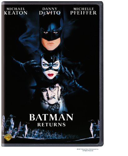 Batman Returns Keaton Devito Pfeiffer Walken DVD Pg13 Ws Fs