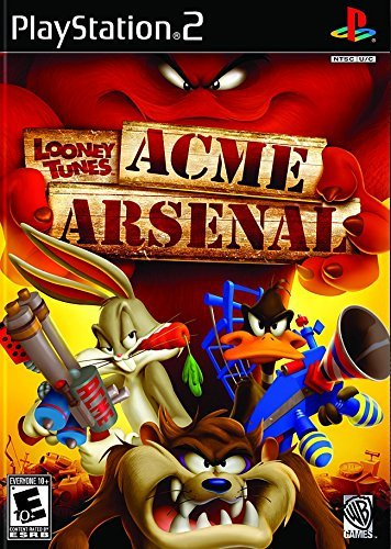 Ps2 Looney Tunes Acme Arsenal