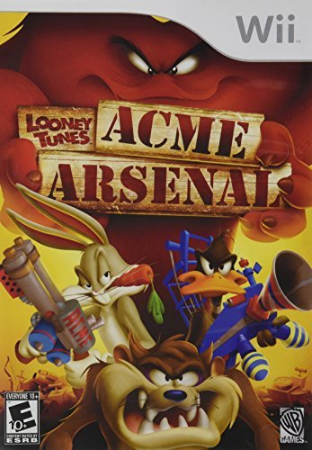 Wii Looney Tunes Acme Arsenal
