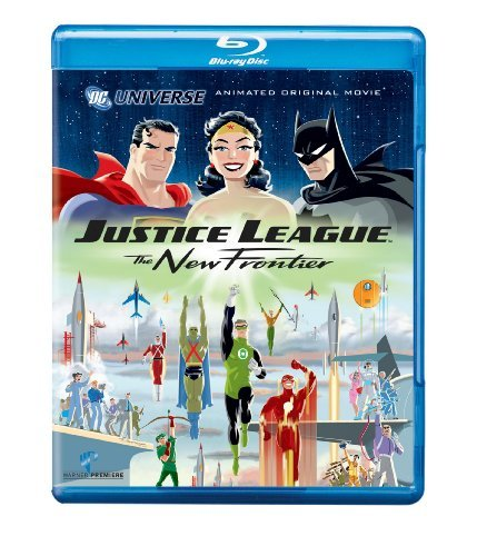 New Frontier Justice League Blu Ray Ws Special Ed. Nr