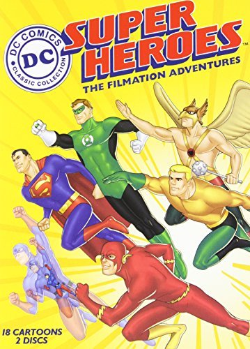 Filmation Adventures Dc Super Heroes Nr