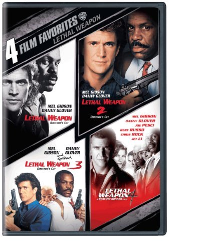 Lethal Weapon 4 Film Favorites Gibson Glover DVD Nr