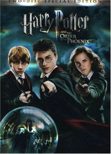 Harry Potter & The Order Of Th Radcliffe Watson Grint Ws Special Ed. Pg13 2 DVD