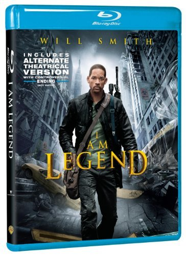 I Am Legend Smith Richardson Braga Pollack Blu Ray Ws Pg13