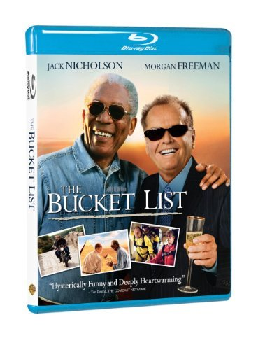 Bucket List Nicholson Freeman Hayes Blu Ray Ws Pg13