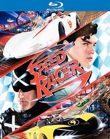 Speed Racer (2008) Ricci Hirsch Fox Goodman Saran Blu Ray Ws Pg