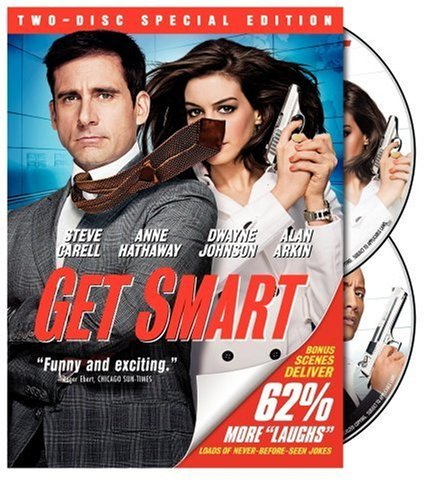 Get Smart (2008) Carell Johnson Hathaway Arkin Special Ed. Pg 13 2 DVD
