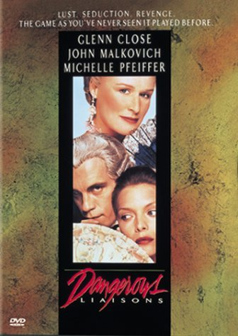 Dangerous Liaisons (1988) Malkovich Close Pfeiffer Thurm Clr Cc Dss Ltbx Keeper R