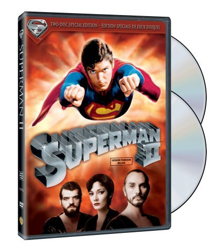 Superman 2 Reeve Kidder Hackman Beatty Co French Version 2 Disc Edition