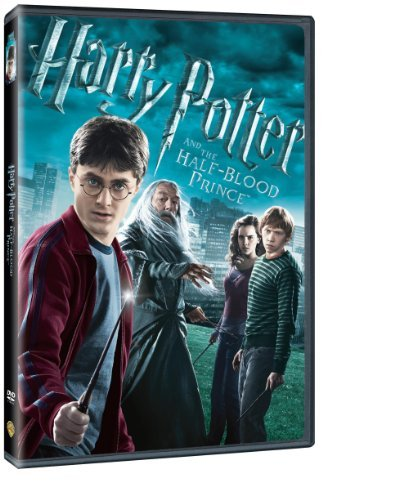 Harry Potter & The Half Blood Prince Radcliffe Watson Grint DVD Pg13 Ws