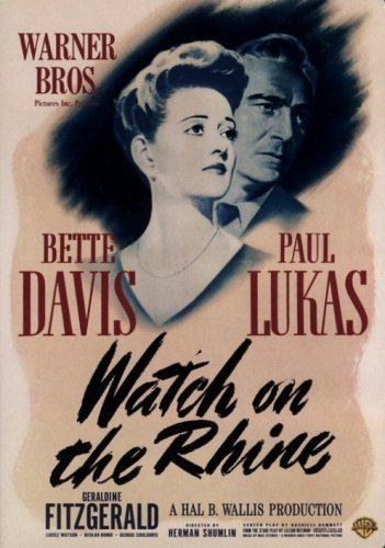Watch On The Rhine Davis Lukas Fitzgerald