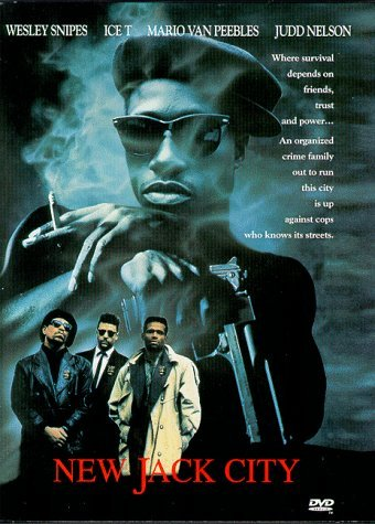 New Jack City Snipes Ice T Van Peebles Rock Clr Cc Dss Snap R
