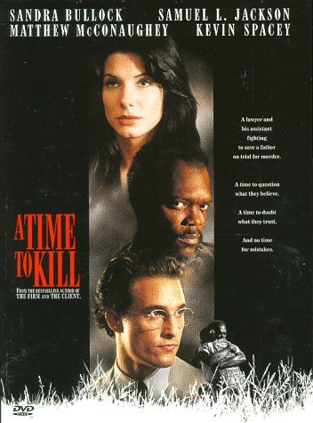 Time To Kill (1996) Mcconaughey Jackson Bullock Sp Ws Snap R