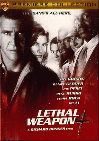 Lethal Weapon 4 Gibson Glover Pesci Russo Rock Clr Cc R Premiere Coll.