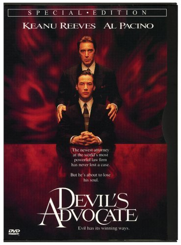 Devil's Advocate Pacino Reeves Theron Ivey Nels Clr Cc Dss R