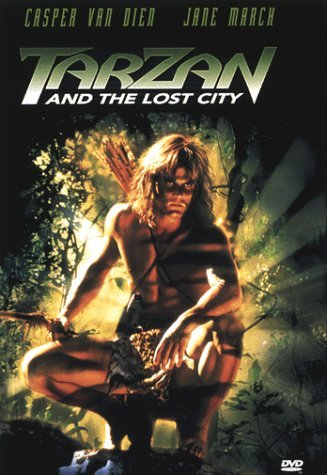Tarzan & The Lost City Van Dien March Waddington Ntsh Clr Cc Dss Pg