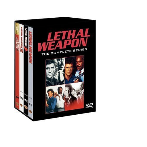Lethal Weapon Giftset Gibson Glover Clr Snap Nr 4 DVD