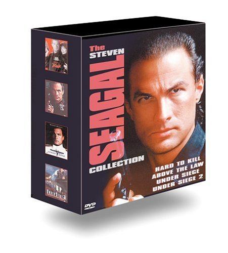 Steven Seagal Collection Seagal Steven Clr Ws 5.1 Nr 4 DVD