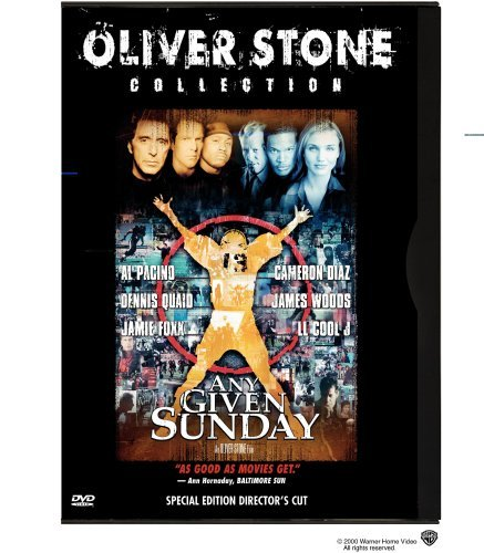 Any Given Sunday Pacino Diaz Quaid Woods Foxx L Clr Cc R Coll. Ed. Dir.