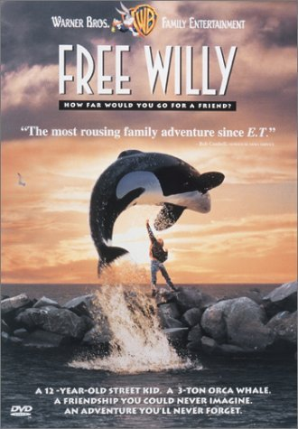 Free Willy Richter Petty Atkinson Schelle Clr Cc 5.1 Ws Snap Pg Wb Family Entertainment